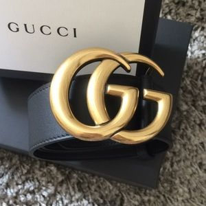Gucci Marmont Belt🖤💛